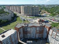 Вид сверху на улицу Ленинского Комсомола
