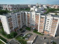 Вид сверху на ул. Эльменя 18