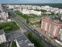 Вид сверху на улицу Энтузиастов