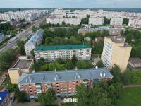 Вид сверху на дома по ул. Гражданская