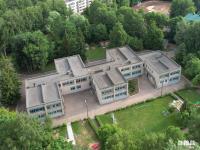 Вид сверху на детский сад №98