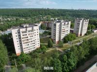 Три девятиэтажки на улице Энтузиастов