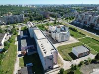 Вид на институт культуры - ул. Энтузиастов 26