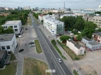 Вид сверху на улицу Ярославская