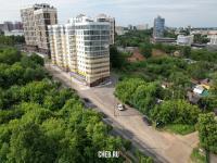 Вид на улицу Сергия Радонежского