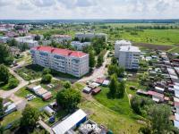 Вид на дома по улице Молодежная