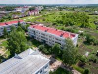 Вид сверху на ул. Молодежная 10