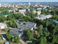 Вид сверху на детский сад №78