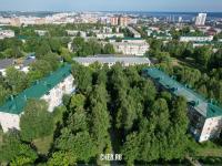 Вид сверху на сквер Николая Смирнова