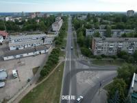 Вид сверху на улицу Николаева