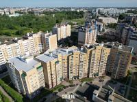 Вид сверху на ул. Соколова 6к2