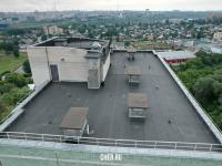 На крыше дома ул. Гражданская 5