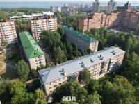 Вид сверху на улицу Анисимова