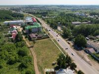 Вид сверху на улицу Шоршелская
