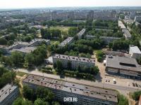 Вид сверху на улицу Шумилова