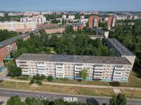 Вид сверху на ул. Шумилова 1