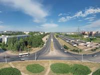 Сферическая панорама: Проспект Тракторостроителей, кольцо у Промтрактора
