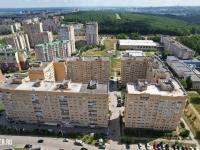 Вид сверху на дома ул. Университетская 38к2 и 38к1