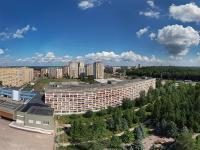 Сферическая панорама у Нового корпуса ЧГУ