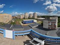 Сферическая панорама: Новый корпус ЧГУ, Дворец культуры ЧГУ