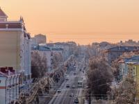 Зимний вид на проспект Ленина