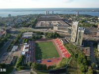 Вид сверху на стадион Спартак