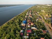 Вид сверху на улицу Волжская