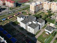 Вид сверху на детский сад - ул. Ильенко 3