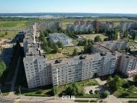Вид сверху на ул. Винокурова 86