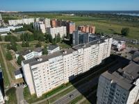 Вид сверху на ул. Первомайская 8