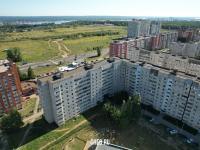 Вид сверху на дома по ул. Советская