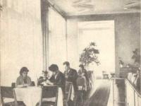 Интерьер кафе Театральное. 1971