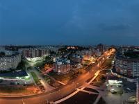 Вечерняя сферическая панорама над улицей Университетская