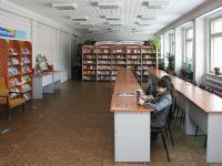 Читальный зал детско-юношеской библиотеки