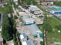 Вид сверху на базу Голицын