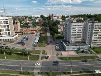 Вид сверху на улицу Олега Кошевого
