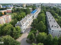 Вид сверху на улицу Максимова