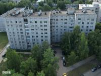 Вид сверху на ул. Тимофея Кривова 19 и 19к1