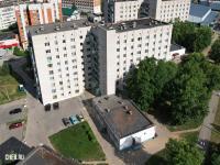 Вид сверху на ул. Тимофея Кривова 10 - Общежитие