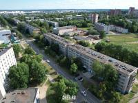 Вид сверху на ул. Тимофея Кривова