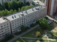 Вид сверху на ул. Тимофея Кривова 14 - Общежитие