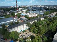 Вид сверху на ул. Тимофея Кривова 13