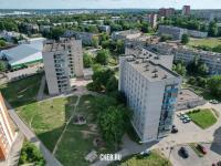 Территория между общежитий