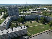 Вид на улицу Советская 1 - Пятиэтажка