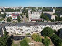 Вид сверху на ул. Винокурова 35