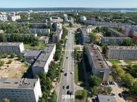 Вид сверху на улицу Винокурова