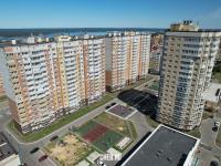 Вид сверху на высотки Нового города
