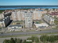 Вид на Чебоксарский проспект 25 и окружающие дома