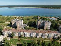 Вид сверху на пятиэтажку ул. Заводская 18