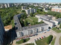 Вид сверху на ул. Советская 1